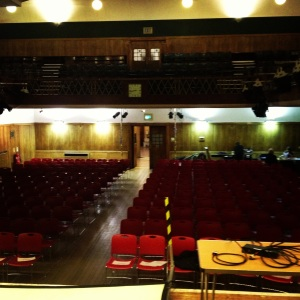 Conway Hall before The Story 2013